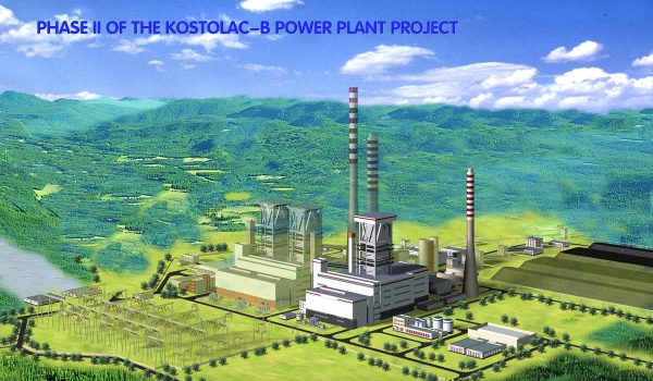 4 Construction new power unit (350 MW) in TPP Kostolac B, Serbia